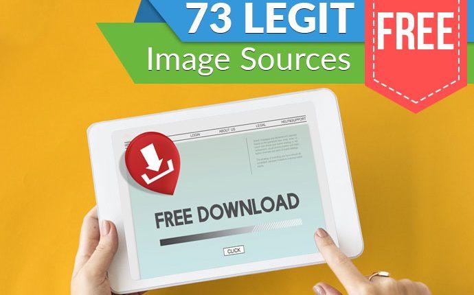 73 Legit Free Image Sources